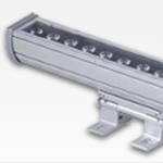 Powerful 18 and 36 watt LED grow light rail with brackets